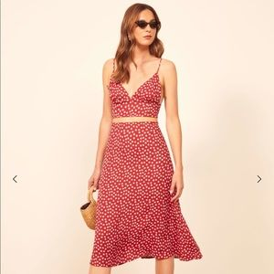 Reformation Catania Two Piece